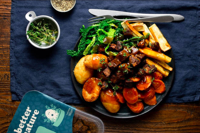 Better Nature has released a new range of vegan products
