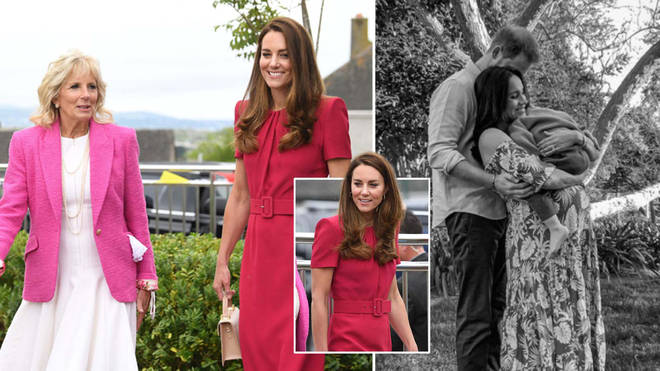 Kate Middleton joined Dr Jill Biden in Cornwall during the G7 Summit