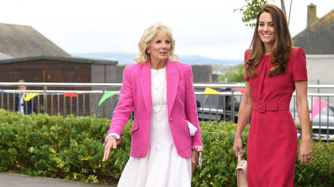 Kate and Jill met for the first time in Cornwall today