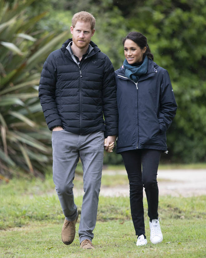 Meghan gave birth to baby Lilibet on June 4