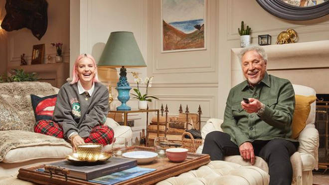 Tom Jones and Anne-Marie are on Celebrity Gogglebox