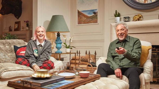 Tom Jones is on Celebrity Gogglebox with Anne-Marie