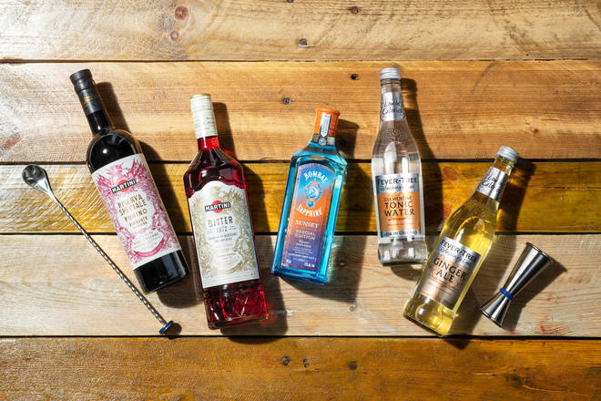 The kit has all you need to learn how to make perfect Negronis
