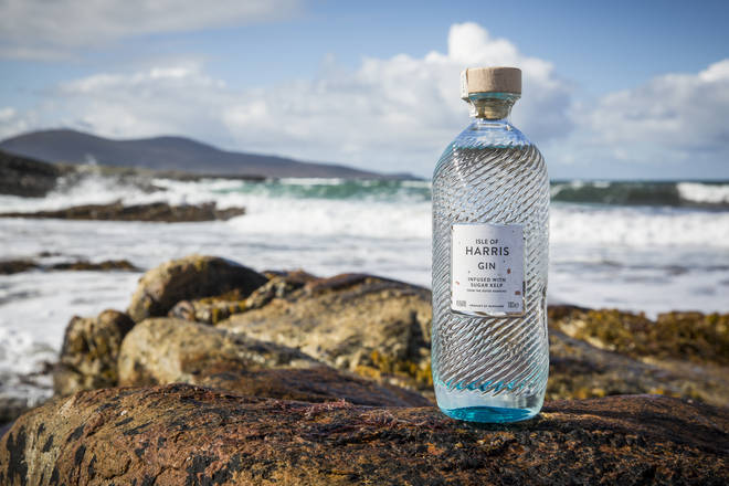 This gin is from the Outer Hebridies