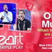 Olly Murs is this week's £30K Triple Play winning artist