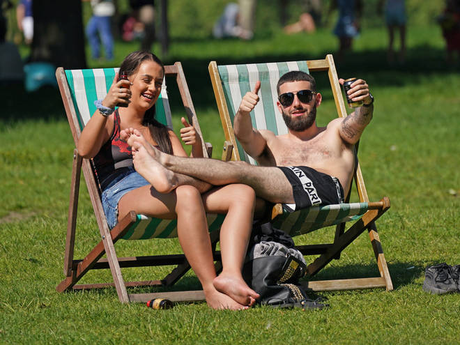 Temperatures reached 29C over the weekend
