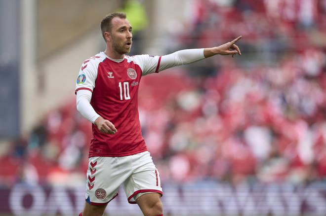 Christian Eriksen suffered a cardiac arrest during Denmark's first game of the Euros 2020