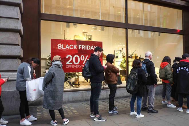 Black Friday is on Friday 23rd November