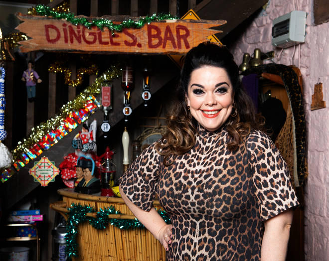 Just In Time For Christmas.Lisa Riley Is Returning To Emmerdale As Mandy Dingle Just