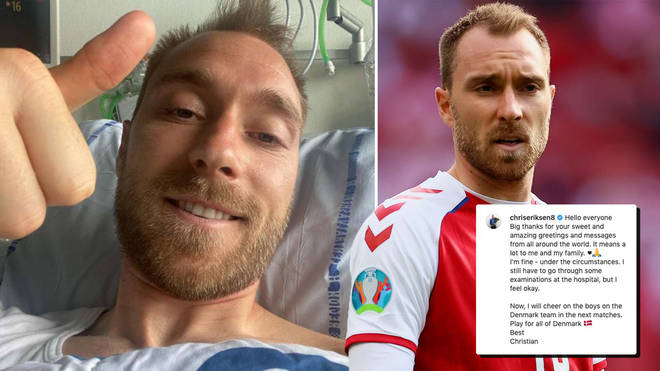 Christian Eriksen suffered a cardiac arrest during Denmark's first game of the Euros