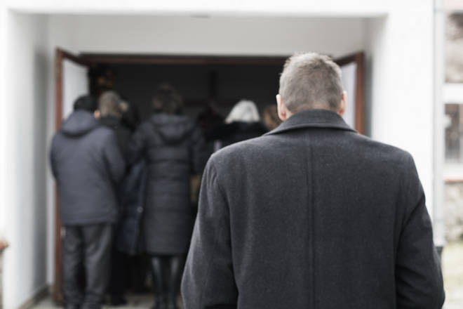 Currently, there is no cap on the number of guests who can attend funerals (stock image)