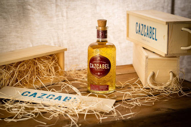 Cazcabel Tequila is aged for between 9 and 11 months