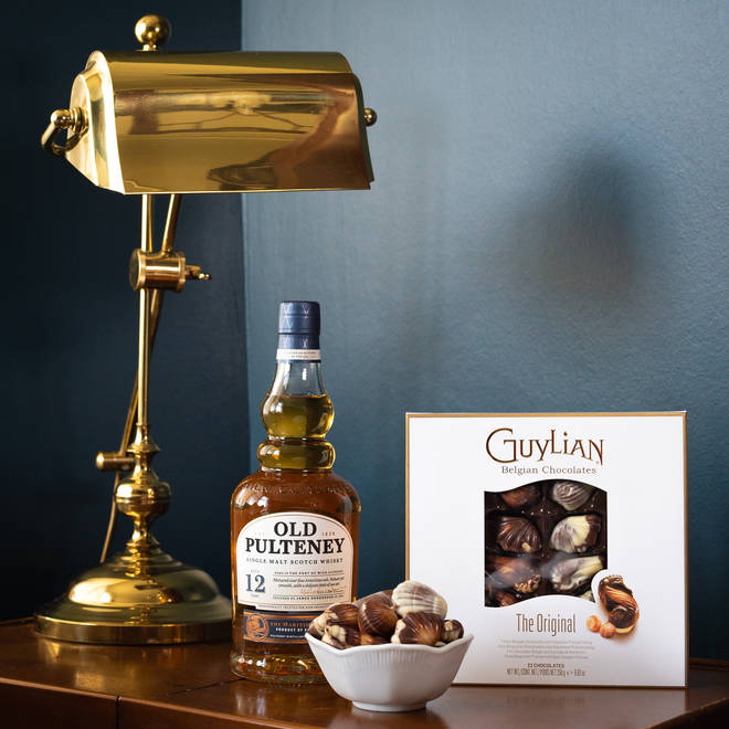 Treat your dad to chocolates and scotch