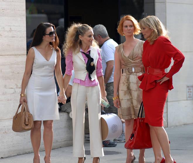 Sarah Jessica Parker, Cynthia Nixon and Kristin Davis are back for the reboot