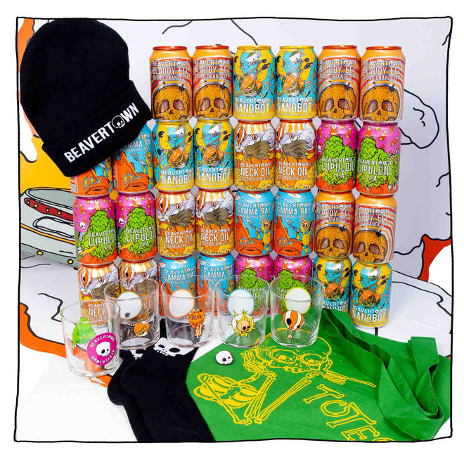 This haul of Beavertown goodies will keep dad busy for a while
