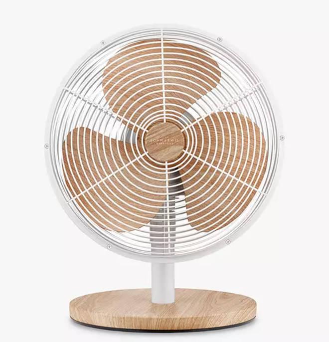 """John Lewis 12"""" Desk Fan"""