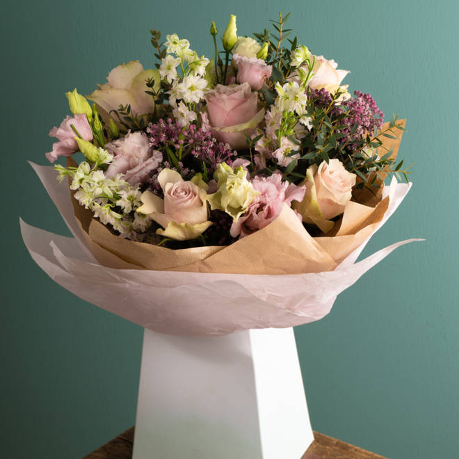 Next offers quick delivery on its flowers - ideal for last-minute purchases!
