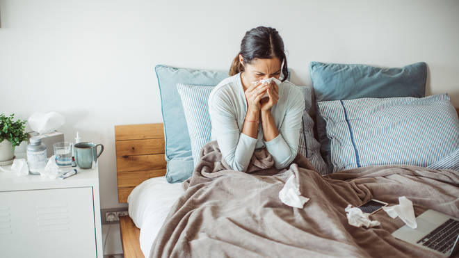 A headache and runny nose are some of the most common Covid symptoms now