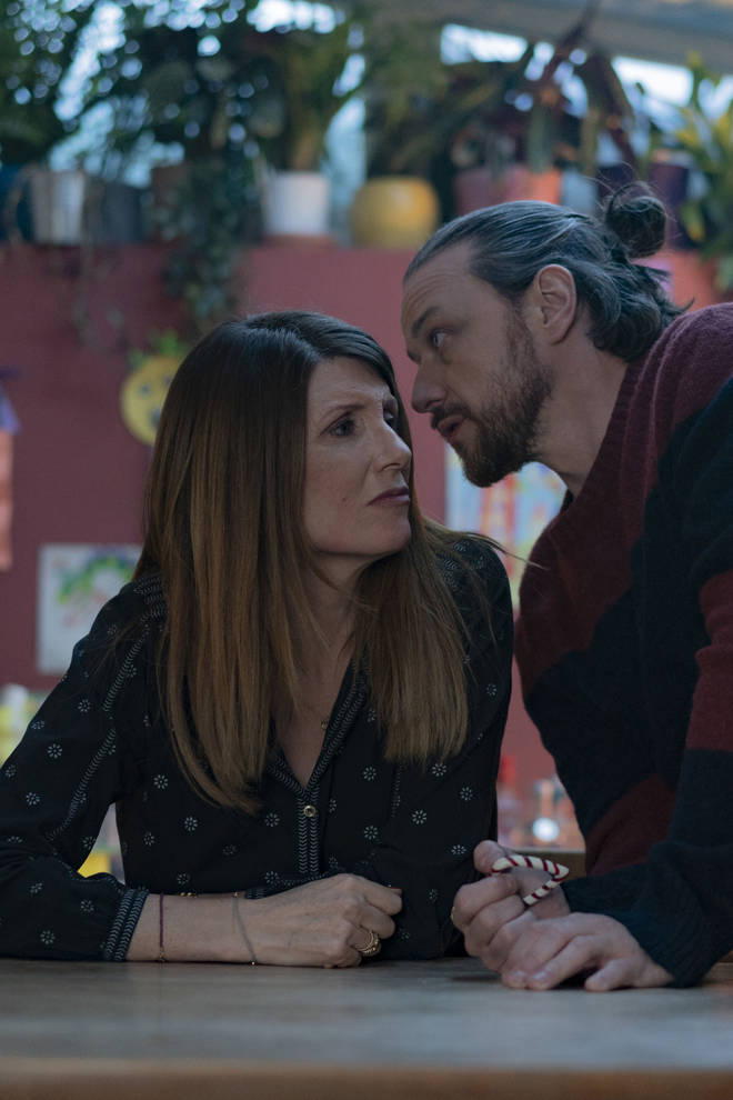 James McAvoy and Sharon Horgate star in Together