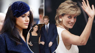 Meghan Markle will reportedly join her husband for the reveal of the Princess Diana statue