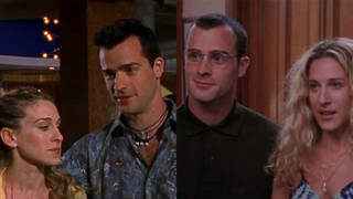 Justin Theroux played TWO characters in SATC