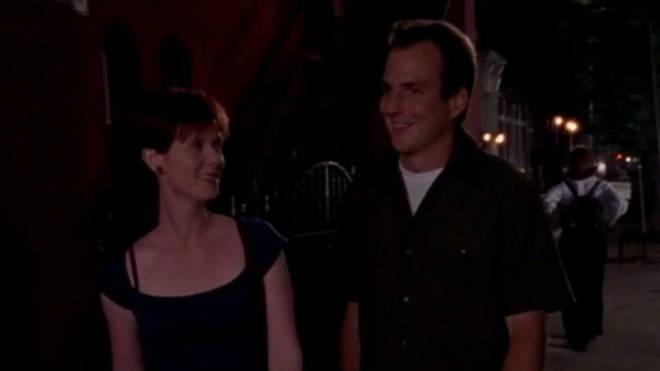 Will Arnett played Miranda Hobbes' love interest