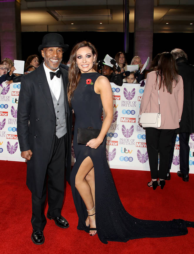 Danny and Amy at the Pride of Britain Awards in October