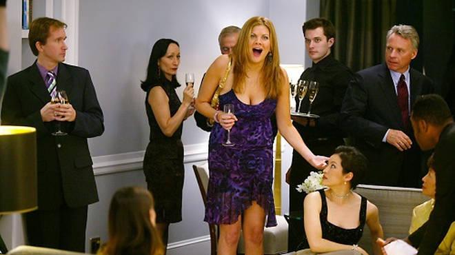 Kristen Johnston played a Manhattan party girl in SATC
