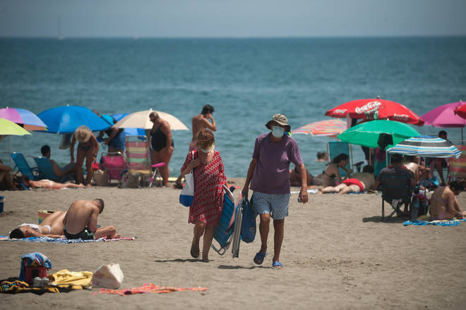The plans could see Brits allowed to visit places like Spain
