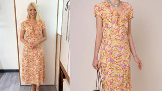 Holly Willoughby is wearing a dress from Rixo