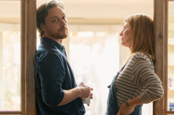 Sharon and James McAvoy star in new BBC drama Together