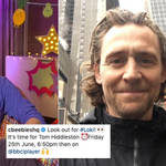 Tom Hiddleston will appear on CBeebies Bedtime Stories