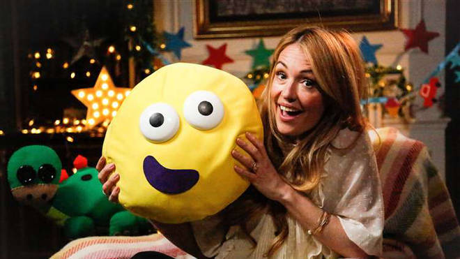 Cat Deeley is also appearing on CBeebies Bedtime Stories