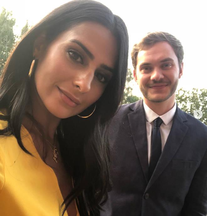 Sair Khan is dating fellow actor Simon Lennon