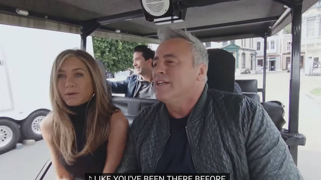 Jennifer Aniston and Matt Le Blanc joined James Corden for Carpool Karaoke