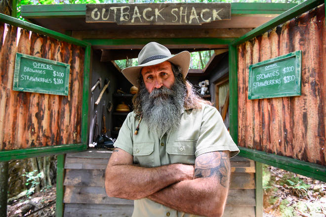Kiosk Kev is a new addition to the celebrity jungle