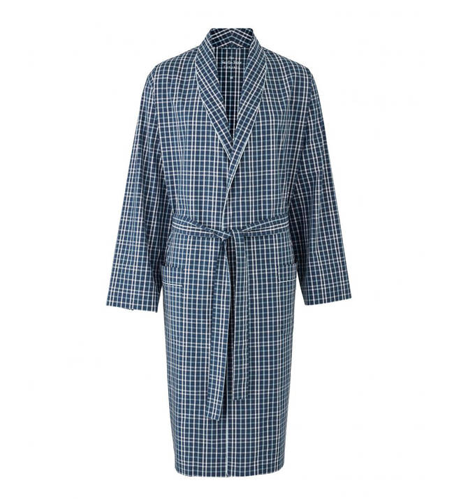 You can get dad's initials embroidered in to this timeless dressing gown