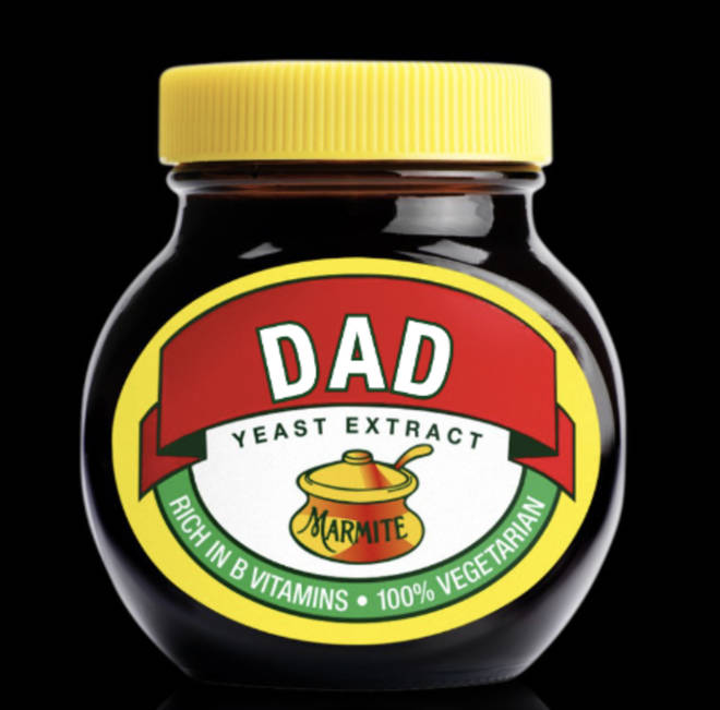 No one will touch dad's Marmite now!