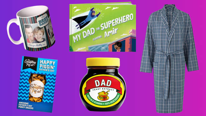 Need a personalised present for dad? How about one of these...