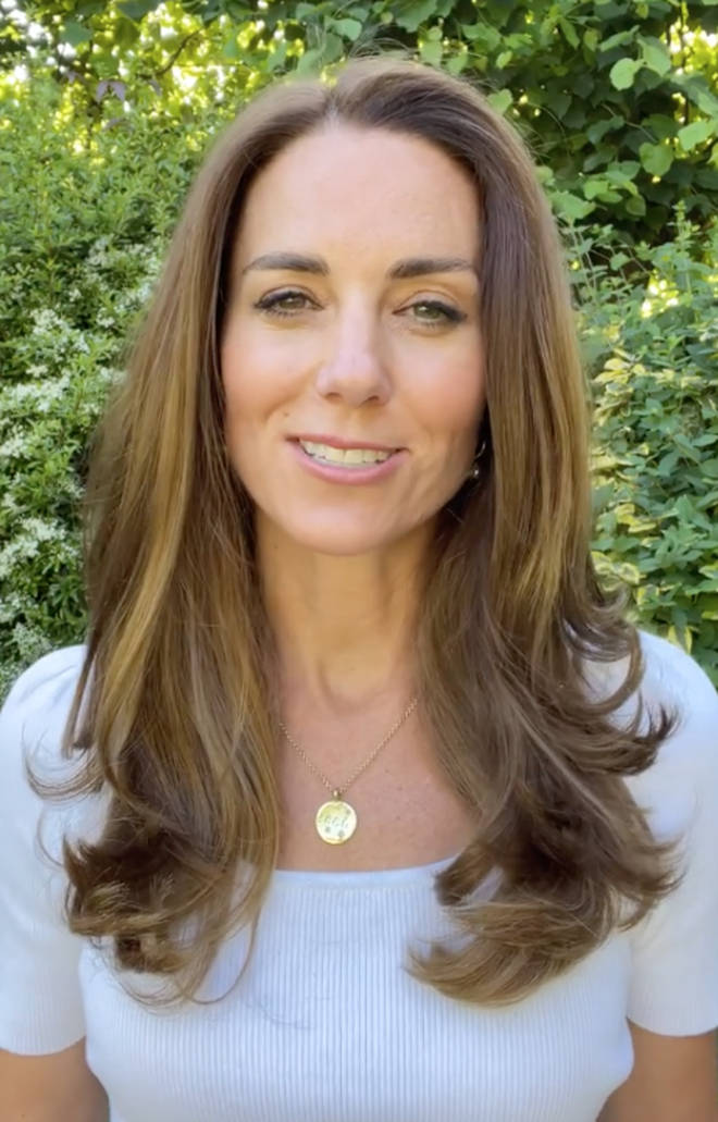 The Duchess of Cambridge shared a video to announce the launch of the Early Years Centre