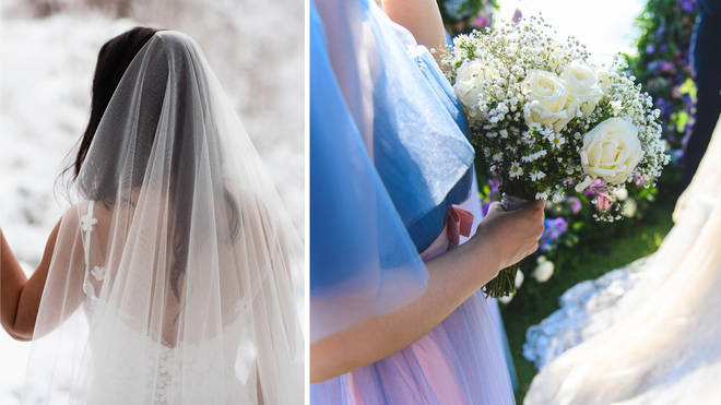 The bride has asked the internet for advice (stock images)