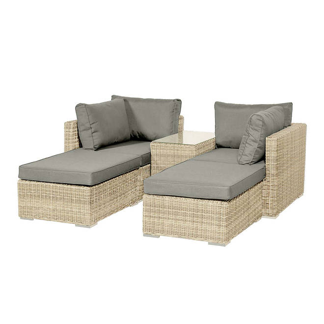 These seats are lovely for relaxing with a partner or pal