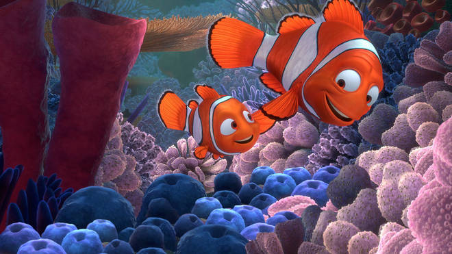 Marlin could be imagining Nemo as a way to cope with the death of his family