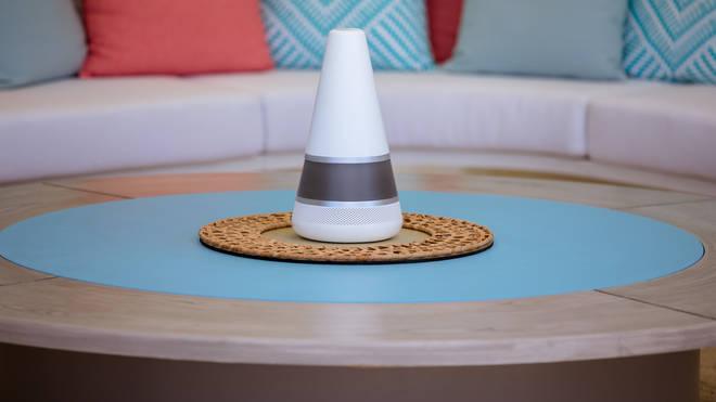 Smart speaker Lana monitored who was breaking rules in the villa