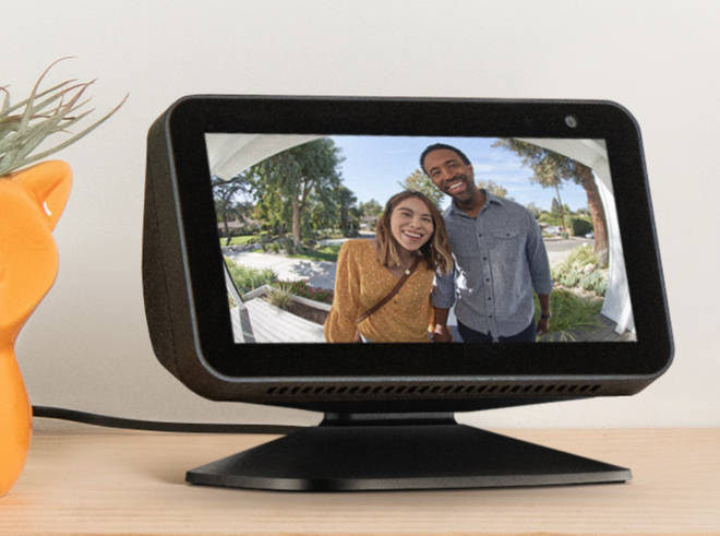 Amazon Echo Show 5 and Ring video doorbell