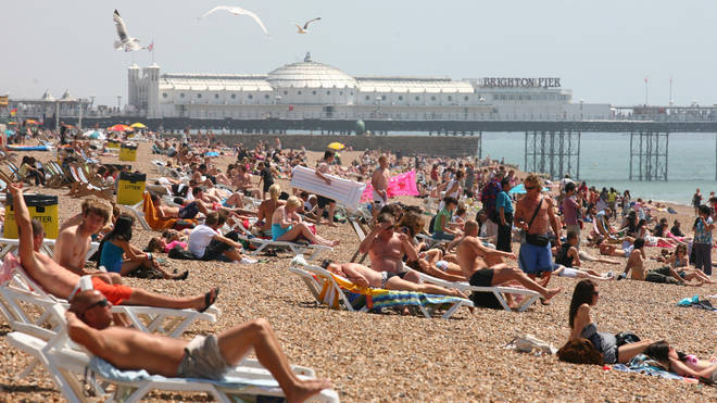 Brits could be enjoyed high temperatures again