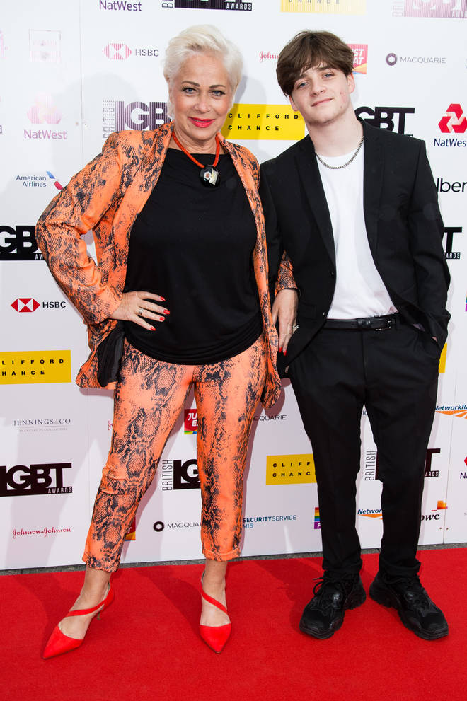 Louis Healy is the youngest son of Denise Welch and Tim Healy