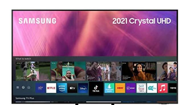 "Samsung 65"" AU9000 Crystal Ultra HD HDR Smart 4K TV"
