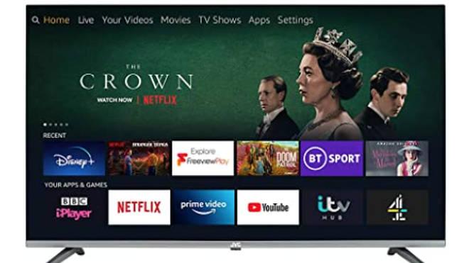 "JVC Fire TV 40"" Smart Full HD LED TV"