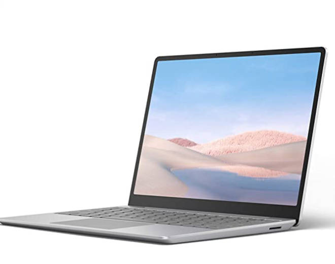 "Microsoft Surface Laptop Go Ultra-Thin 12.4"" Laptop"